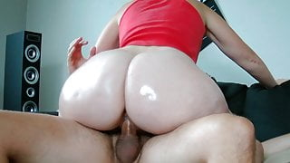 My Step Sister has a Big Oiled Ass!
