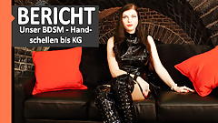 BDSM report: Our BDSM - an exclusive reader's report