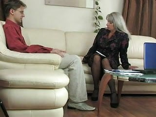 Mature woman fuck young guys Mature woman and young guy