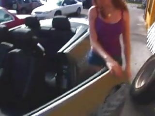 Teen microwave repair pic Marie makes a deal for her car repairs