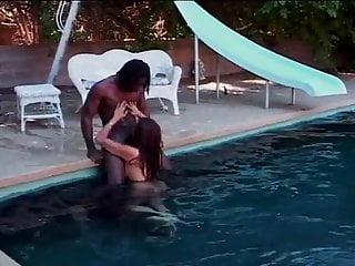 Boys cock wanking Slut sucks pool boys cock