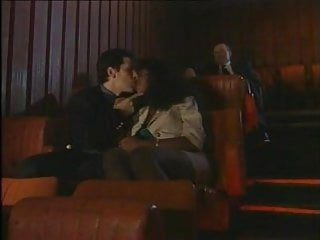 Free xxx young and old - Ebony fucked by young and old in the cinema vintage