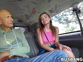 Dick van dyke hushabye Tiny teen destroyed by big dicked mature guy in the van