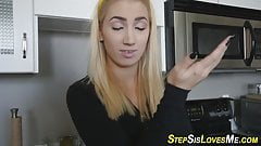 Blonde slut pov sucking