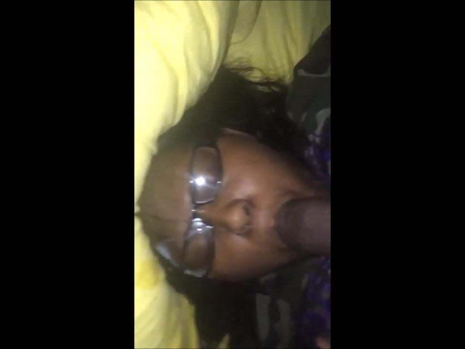 Ebony Bbw Facial Cumshot
