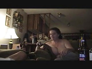 Redneck dildo Redneck husband films wife being fucked with eagles playing