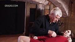 Playing with a broken slave slut