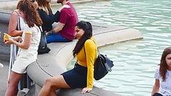 Busty indian chick spy