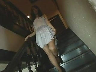 Erie escorts - Akira erie - stairs