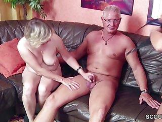 Putzfrau ficken mit Notgeiler Ehemann
