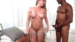 Kayley Gunner Wants Threesome Sex With Big Black Cocks