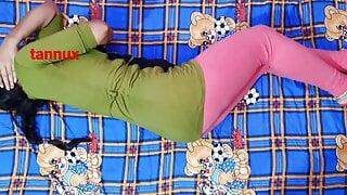 Desi college girl has anal sex fun with bf with Hindi audio – PAIN