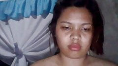 Filipina Kimberly A D masturbating live cam
