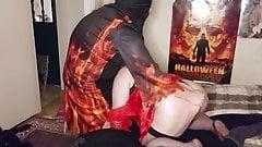 Happy Halloween!!! Trinity and the Vampire