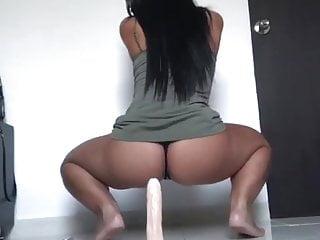 Sex negrita - Latina negrita onlyfans big dildo