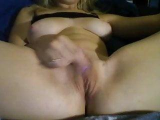 Blonde fingers her pussy Blonde fingers her pussy ns