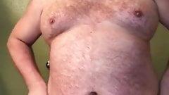 Blonde Bear in tighty whities