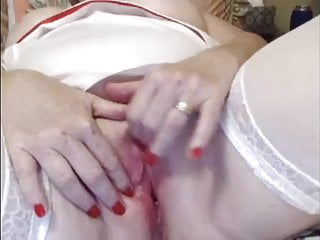 Boobs and clit Big mature clit and boobs