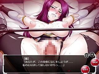 Tamari asagi tentacle hentai Taimanin asagi kessen arena masked oboro scene 2