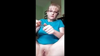 Granny's First Buttplug
