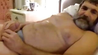 Grandpas and Older Men Playing With Their Cock 1