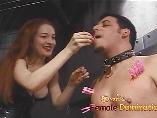 Team domination Two mistresses team up and dominate felix in the dungeon