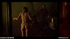 Blu Hunt & Katee Sackhoff all nude and hot sex video