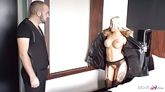 German Teen Tight Tini Surprises User with Sex on his Birthday