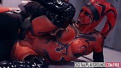 DigitalPlayground - Star Wars One Sith - XXX Parody Kleio Va