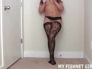 Expensive fuck shots These expensive fishnets are really fucking hot joi