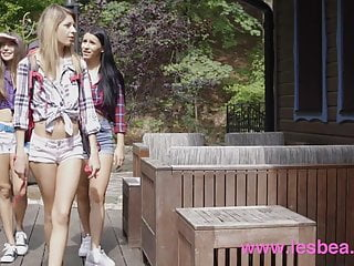 Nellie mckay lesbian - Lesbea nelly kent fucks talia mint in sauna and under waterf