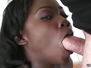 Girls fucking gents Black bitch with braces and big boobs fucked by a white gent