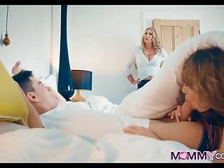 Couple lesson mature teach tgp Thick mom teaches them a lesson