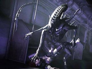 Erotic alien cartoons - Alien fuck 10