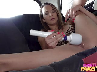 Cheating neighbour caught xxx Female fake taxi she is caught masturbating by her neighbour
