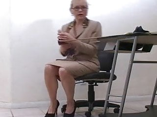 Big tits mature teacher Mature teacher talks to you about sexuality