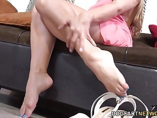 Angel cassidy bondage fetish - Cassidy klein pleases a big black cock with her feet