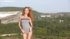 The sexiest redhead, Michelle H, field of dreams