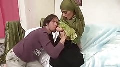 A young girl fucking a man