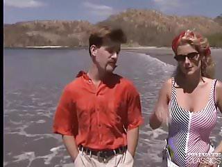 Sex in beach - Busty sally enjoys anal sex in the beach