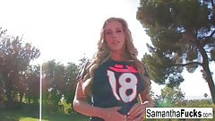 Samantha's BJ Leads To A Creampie