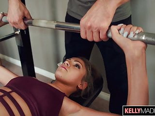 Anna bikini faris Toned babe athena faris earns a creampie when working out