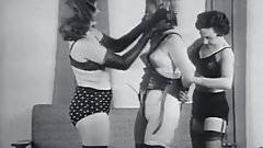 Fetish Riding the Human Pony Girl (1950s Vintage)