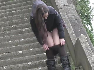 Sexy pissing videos 4 greedy Babes public pissing compilation 4