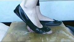 Ballet Flats Shoejob Cumpilation