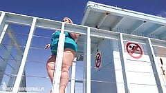 Mandy Majestic - Lifeguard On Duty And Dick