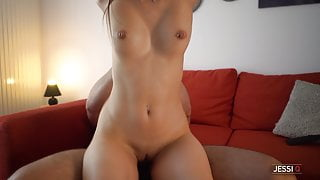 I will ride your hard cock until you cum on my pierced tits