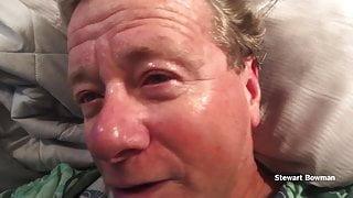 Stud with Huge Black Cock Throat Fucks Stewart Bowman