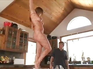 Sex food fetish - Sexy foot with food domination