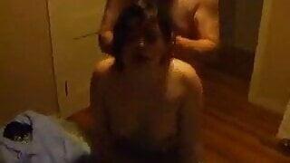 White - Cuck likes watching strange cock bang his GF